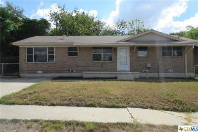 Copperas Cove Single Family Home For Sale: 612 17th Street