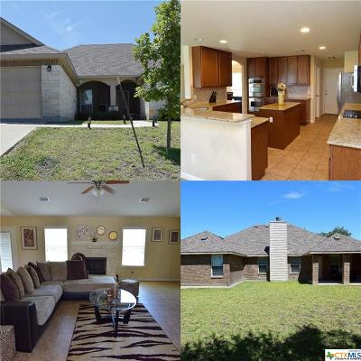 Killeen Single Family Home For Sale: 6004 Siltstone