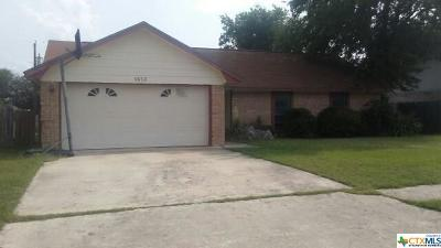 Killeen Single Family Home For Sale: 1613 Big Bend