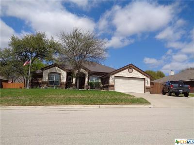 Killeen Single Family Home For Sale: 6403 Zinc Drive