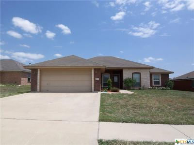 Copperas Cove Single Family Home For Sale: 2108 Joseph Drive