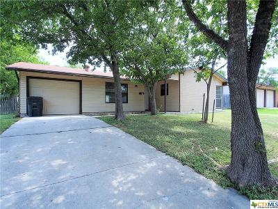 Killeen Single Family Home For Sale: 1518 Meadow