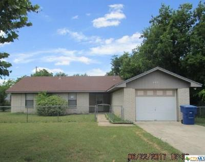 Copperas Cove Single Family Home For Sale: 202 Reagan Avenue