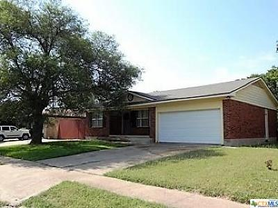Killeen Single Family Home For Sale: 2316 Zephyr