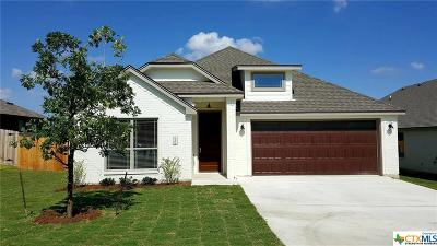 Temple Single Family Home For Sale: 8408 Salt Mill Hollow