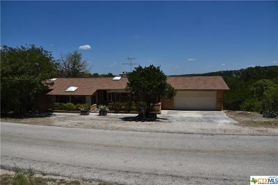 Canyon Lake Single Family Home Pending Take Backups: 1820 Triple Peak Drive