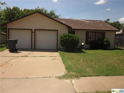 Killeen Single Family Home For Sale: 2207 Barry