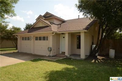 Killeen Single Family Home For Sale: 4508 Mesa