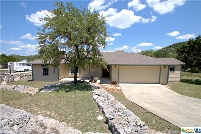 Canyon Lake Single Family Home For Sale: 1830 Island