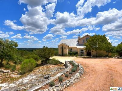 Wimberley Single Family Home For Sale: 160 Cave Springs
