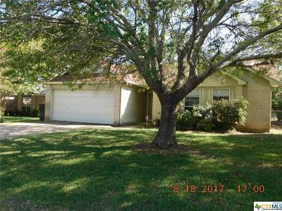 Temple Single Family Home For Sale: 8617 Casler Circle