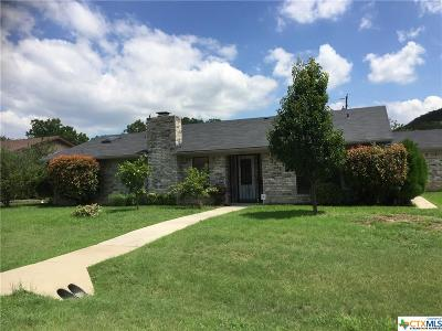 Harker Heights Single Family Home For Sale: 2517 Quartz Trail
