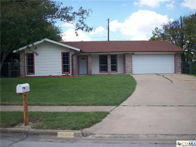Killeen Single Family Home For Sale: 1103 Houston Street