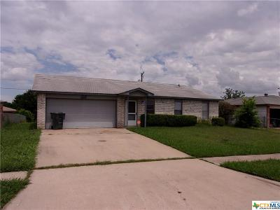 Killeen TX Single Family Home For Sale: $90,000