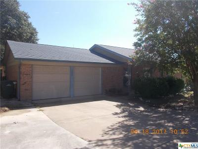 Copperas Cove Single Family Home For Sale: 1004 Jodi