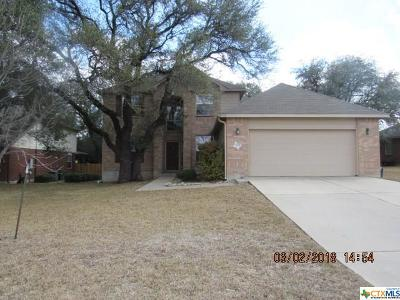 Harker Heights Single Family Home For Sale: 302 Crowfoot Drive