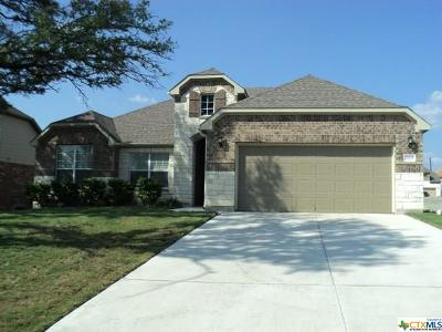 Harker Heights Single Family Home For Sale: 819 Green Meadow Drive