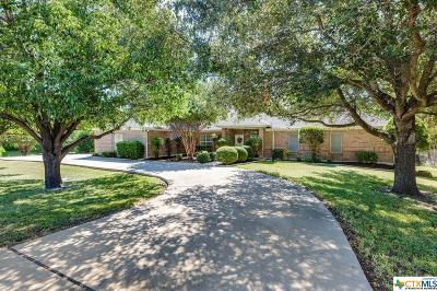 Belton Single Family Home For Sale: 3345 Dunns Canyon