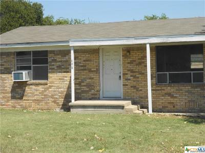 Copperas Cove Single Family Home For Sale: 408 Hill Street