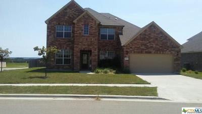 Killeen Single Family Home For Sale: 6400 Serpentine