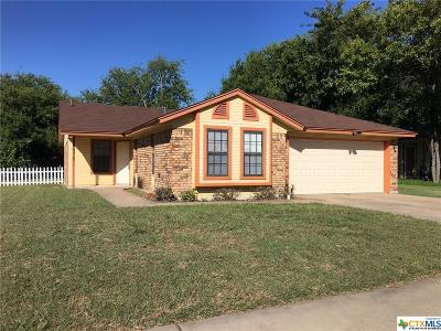Killeen Single Family Home Pending Take Backups: 4310 Brian Drive