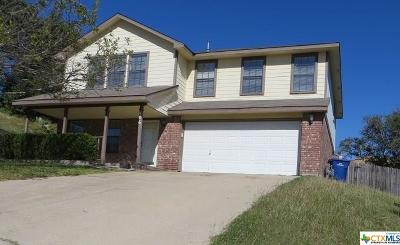 Copperas Cove TX Single Family Home For Sale: $147,000