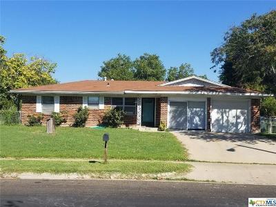 Copperas Cove Single Family Home For Sale: 107 North Drive