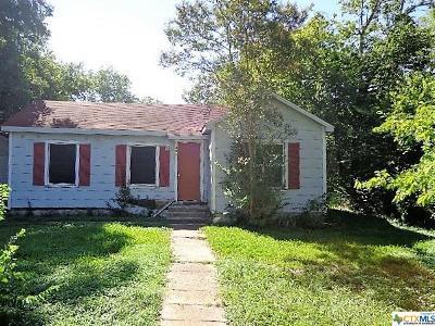 Belton Single Family Home For Sale: 805 Waco Road