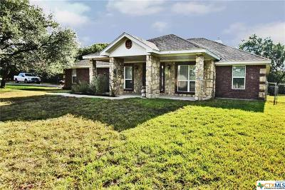 Copperas Cove Single Family Home For Sale: 3640 Big Divide Road