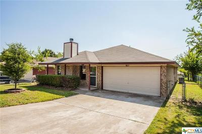 Copperas Cove Single Family Home For Sale: 802 5th