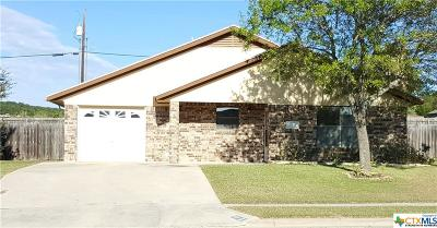 Copperas Cove Single Family Home For Sale: 111 Patterson Street
