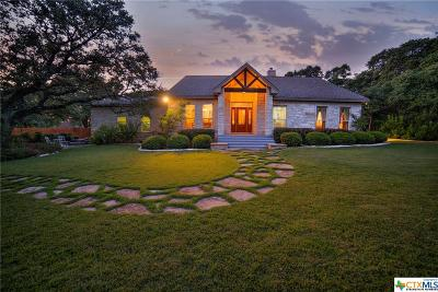 New Braunfels Single Family Home For Sale: 249 Winding View