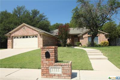 Copperas Cove Single Family Home For Sale: 1111 Hawk Trail