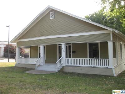 Temple Single Family Home For Sale: 209 7th Street