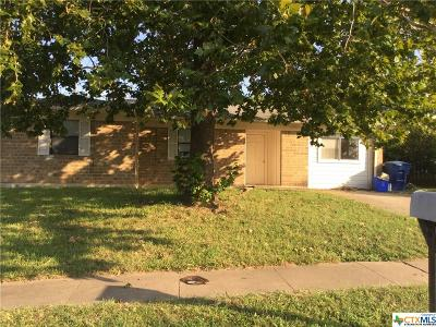 Copperas Cove Single Family Home For Sale: 804 19th Street