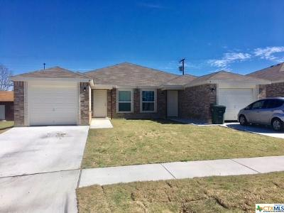 Copperas Cove Multi Family Home For Sale: 217 Gibson #A-B