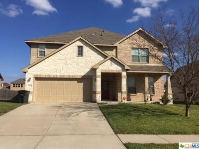 Killeen Single Family Home For Sale: 5910 Bedrock