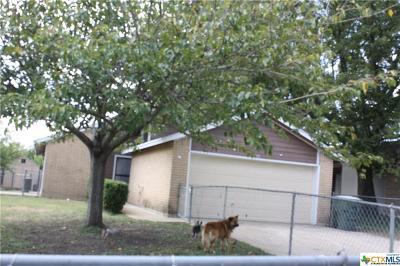 Killeen TX Single Family Home For Sale: $72,000