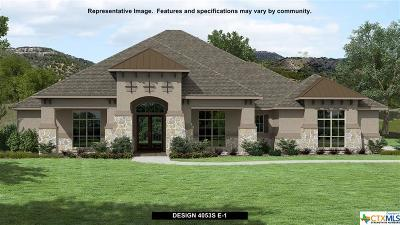 New Braunfels Single Family Home For Sale: 1039 Diretto Drive