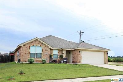 Copperas Cove Single Family Home For Sale: 3402 Jacob Street