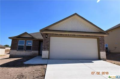 Killeen Single Family Home For Sale: 3806 Appalachian Trail