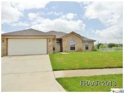 Killeen TX Single Family Home For Sale: $145,000