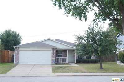 Temple Single Family Home For Sale: 5318 Whistle Stop Drive