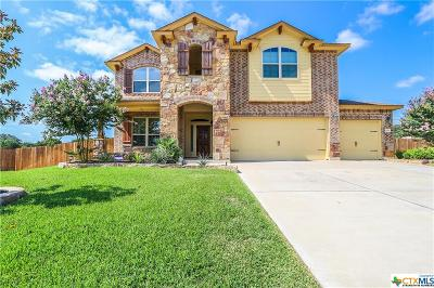 Killeen Single Family Home For Sale: 3712 Mesquite Branch