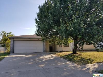 Killeen Single Family Home For Sale: 302 Eric Drive