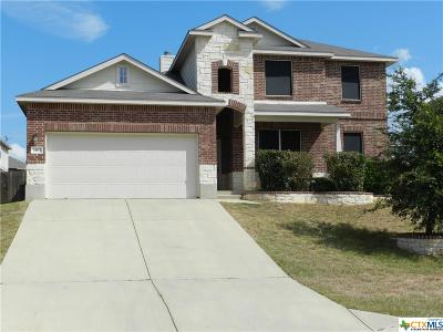 Harker Heights Single Family Home For Sale: 2611 Moosehide Drive