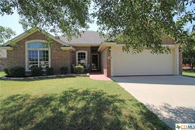 Harker Heights Single Family Home For Sale: 1404 Saxon