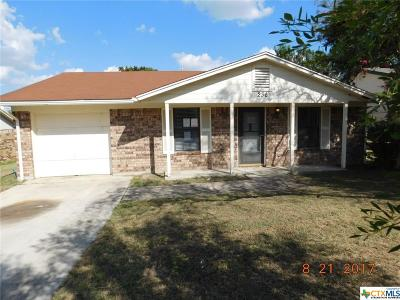 Copperas Cove TX Single Family Home For Sale: $44,500