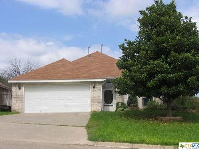 Harker Heights Rental For Rent: 1509 Port Drive