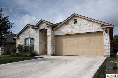 San Marcos Single Family Home For Sale: 502 Capistrano